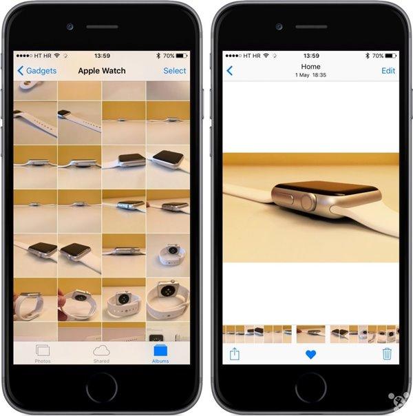 苹果ios9图片无限放大怎么回事