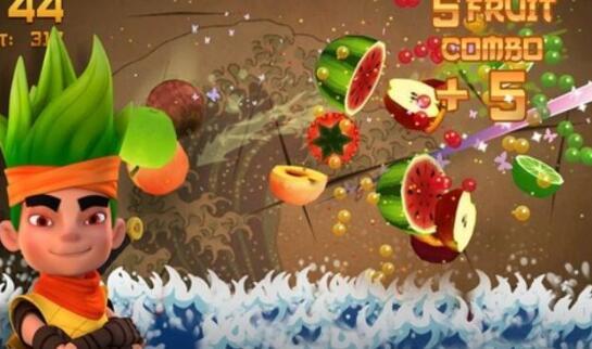 水果忍者怎么得高分