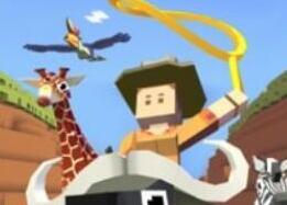 疯狂动物园破解版:惊险紧张的动物跑酷竞技游戏