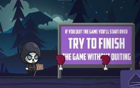 收割者的冒险游戏:一款卡通版幽灵闯关冒险游戏
